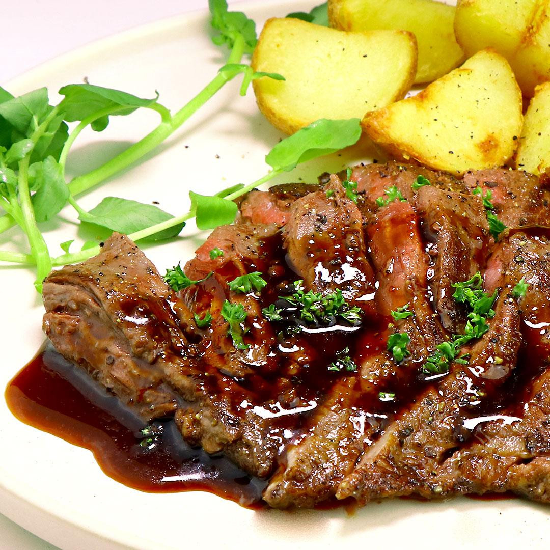 牛ハラミ ステーキ 200g (牛ハラミの塊肉)
