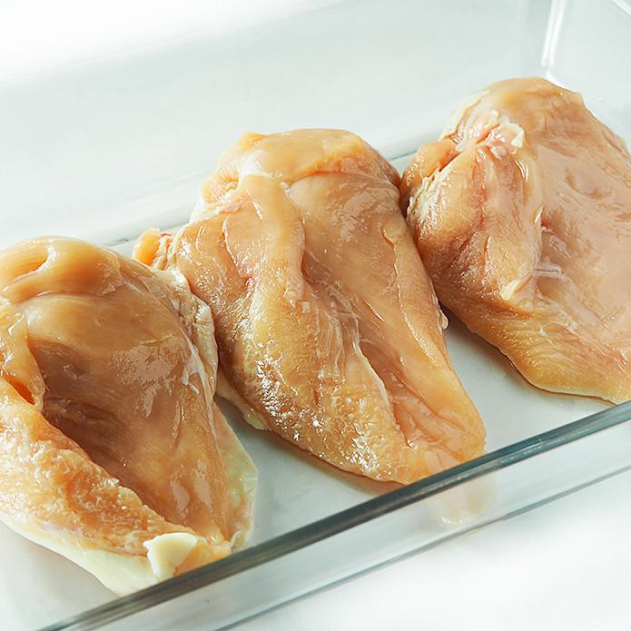 【国産銘柄鶏】錦爽どりのムネ肉 (きんそうどり) 1kg