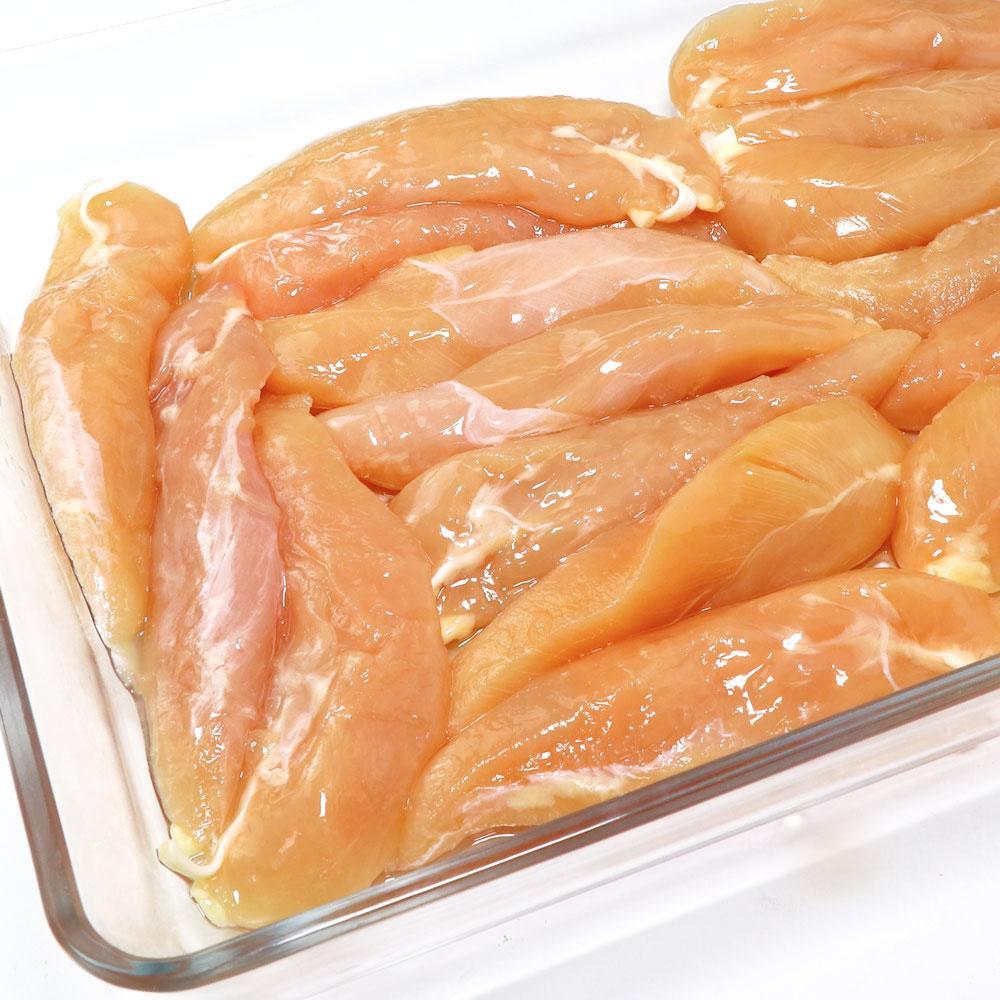 【国産銘柄鶏】錦爽どりの ささみ (きんそうどり) 1kg