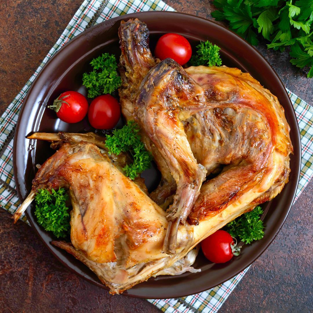 スペイン産 うさぎ 丸ごと1匹 約1kg ウサギ/兎肉