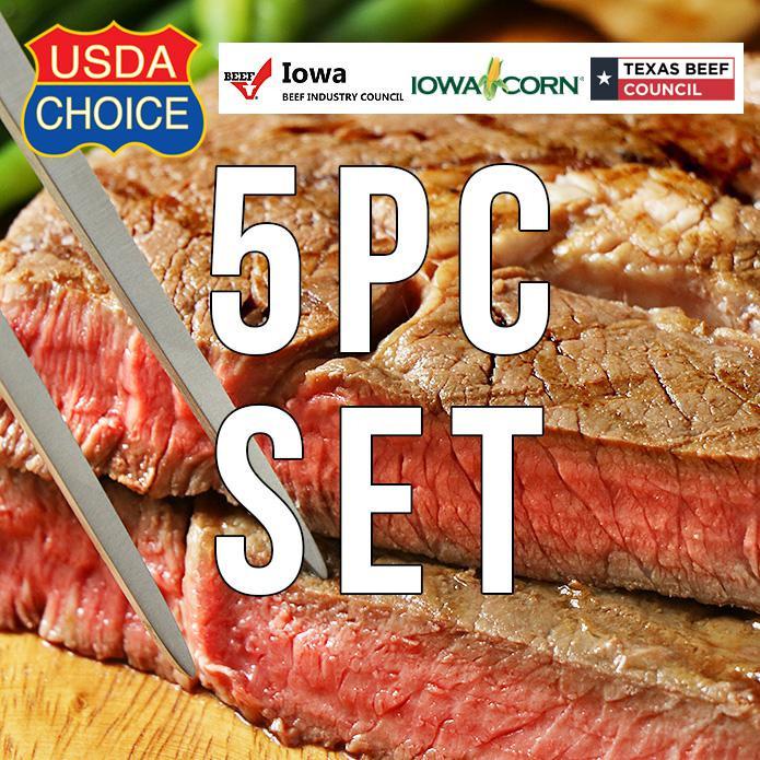 USDAチョイス アメリカンビーフ 特大リブロースステーキ 350g×5枚セット ステーキスパイスのおまけ付き