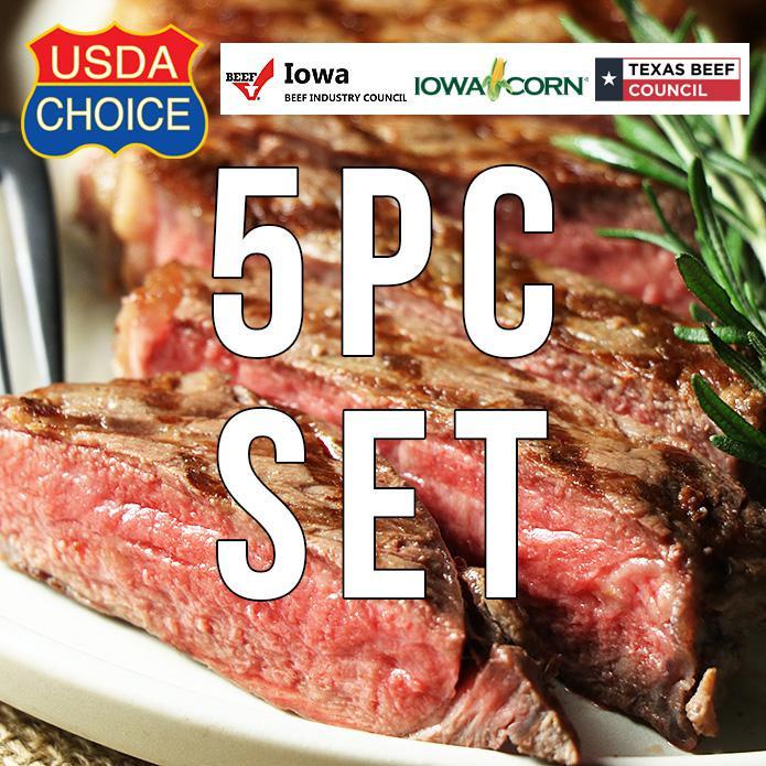 USDAチョイス アメリカンビーフ サーロインステーキ 350g×5枚セット ステーキスパイスのおまけ付き
