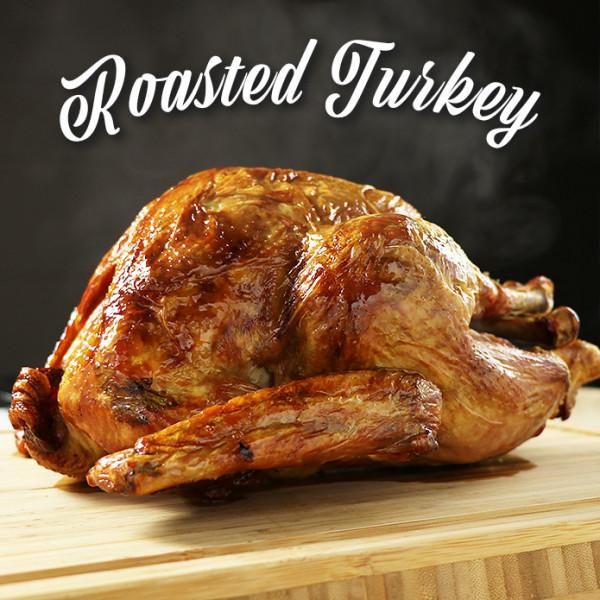 数量限定!調理済み ローストターキー 約1.8kg-2kg (4-6人前) グレイビーソース付