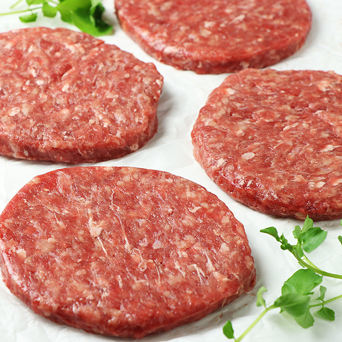 Classic Beef Burger Patties (100gx4)