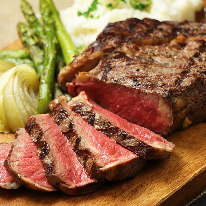 One Pound Ribeye Steak (Over 450g!)
