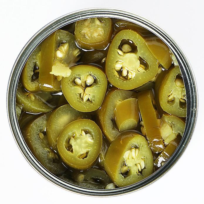 Canned Jalapeño Slices 220g