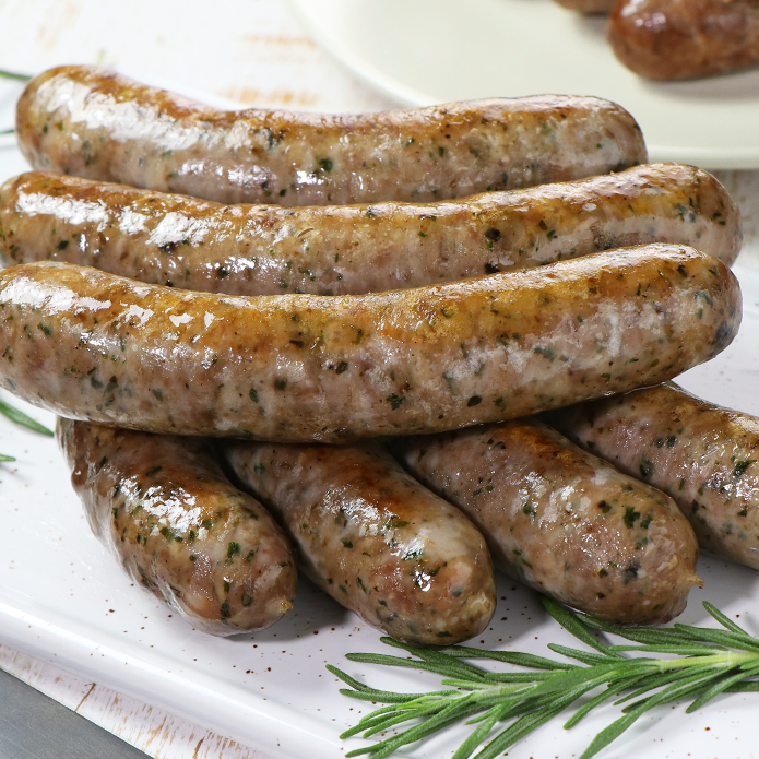 The Meat Guy  Lamb Sausage - Herb Flavored  (49pc)