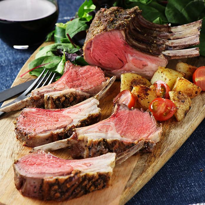 [Wakanui Spring Lamb] New Zealand Lamb Rack Frenched (450g) + Free Lamb Rub Spice