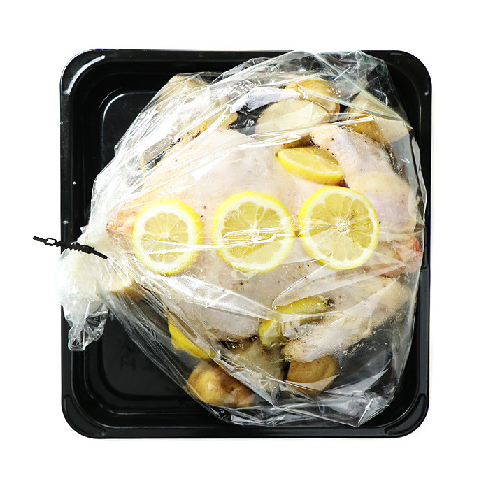 Big Roasting Bag / Oven Bag + Clips (5 Bags)