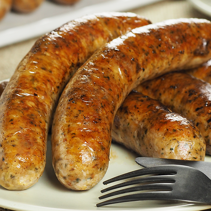 The Meat Guy Herb & Semi-Dried Tomato Sausage BULK SIZE (50PC)