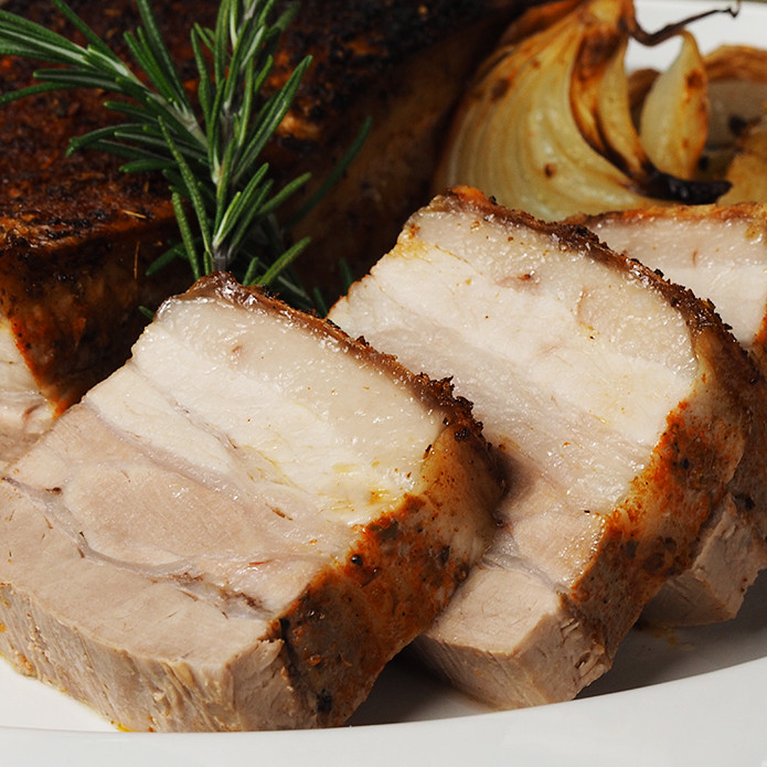 Skin-on Pork Belly Block (800g)