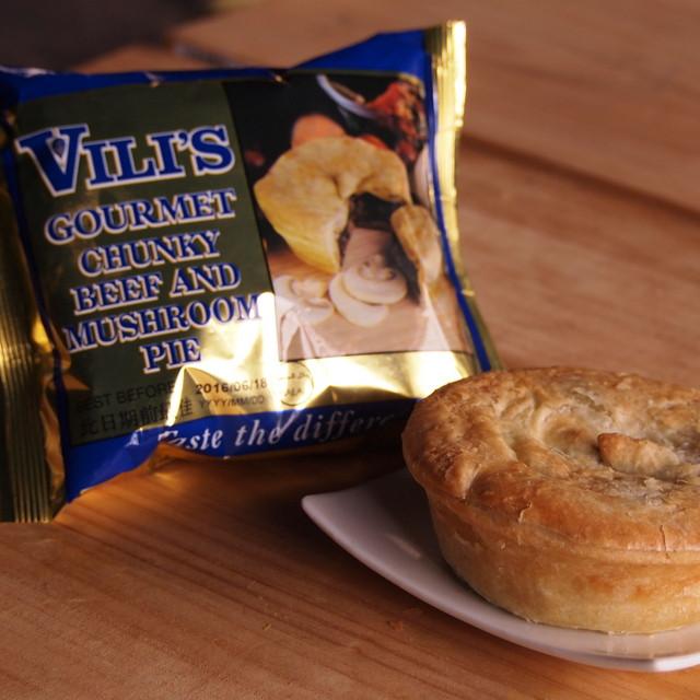 Vili's Beef & Mushroom Meat Pie (160g)
