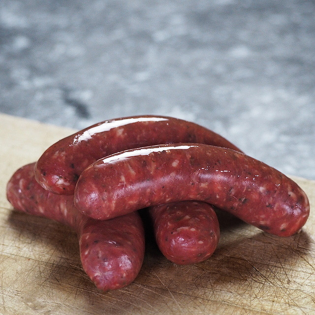 Venison/Deer Sausage - 100% Natural, Free of Additives, Preservatives and Sugar (4pc)
