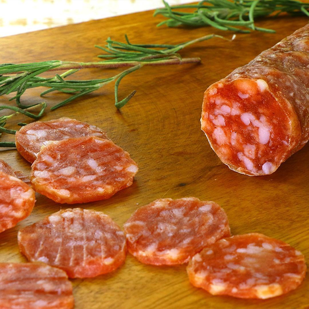 【RESTOCK TBD】soft salami ( Strolghino di Culatello) 160g