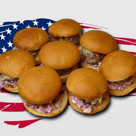 Mini Hamburger / Sliders Set (8c)