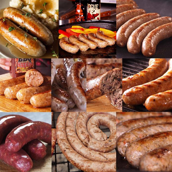 (Free Shipping) Original Sausage Special Variety Set (More than 50 Sausages!)