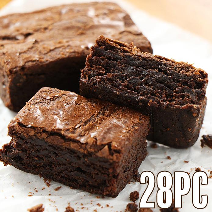 Triple Chocolate Brownies (28 pcs)