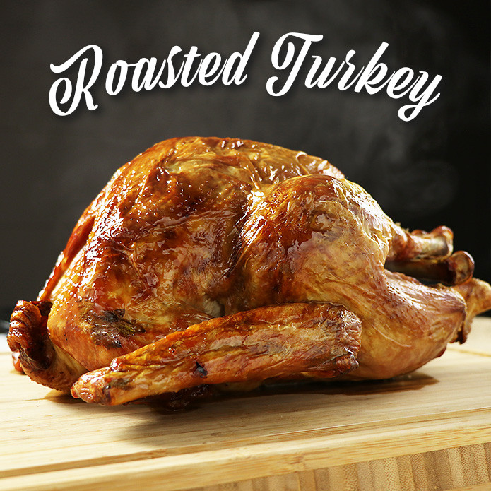 【THE NEXT ARRIVAL WILL BE AROUND NOVEMBER】While Supplies Last! Precooked Turkey! 1.8kg-2kg For 4-6 People (Gravy Included)