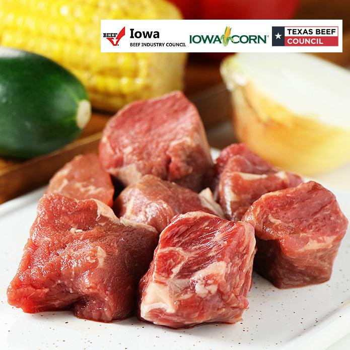 USDA Beef Cube Off-Cuts (200g)