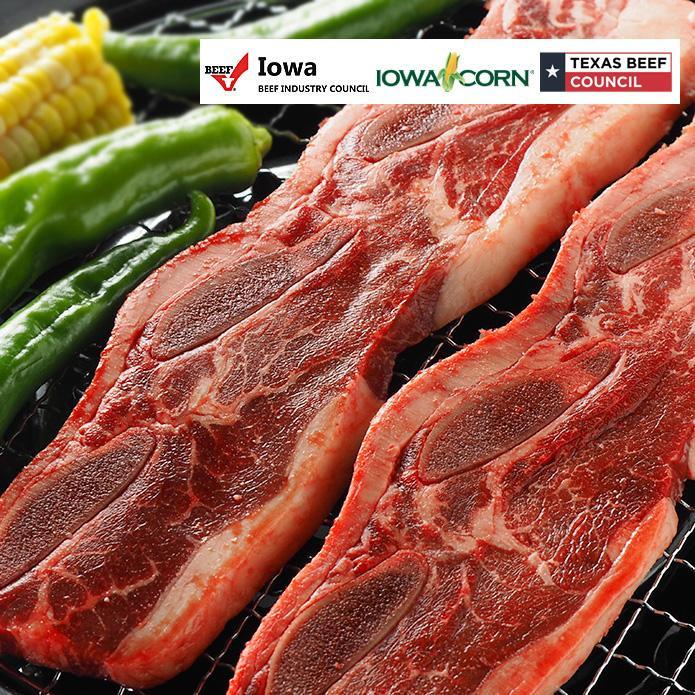 US Beef Short Rib Slices 500g