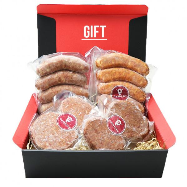 (Free Shipping!) Original Meat Guy Sausage and Hamburg Gift Set
