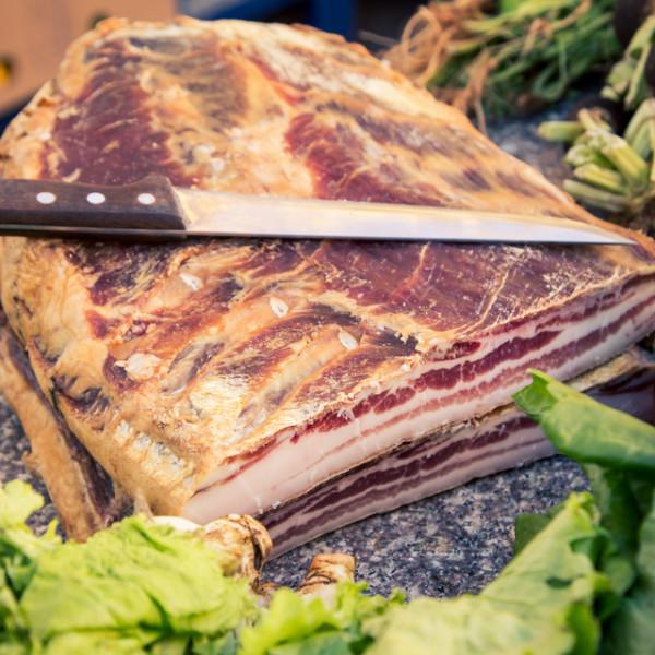 Original Austrian Handmade Kaiser Bacon Block (1.2kg)