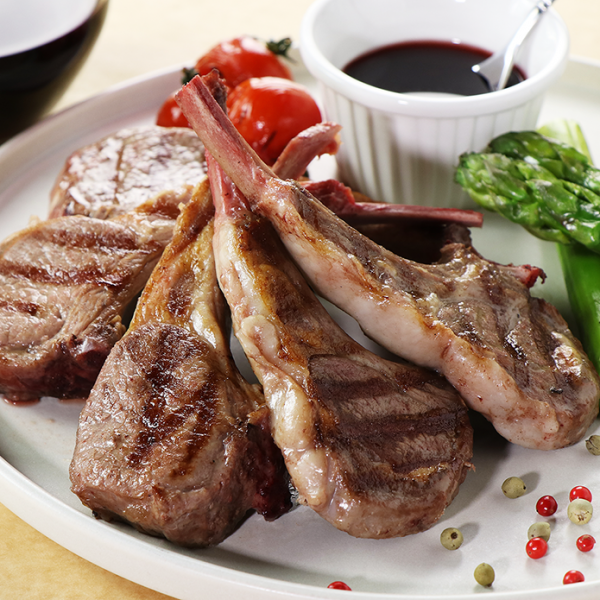 [Wakanui Spring Lamb] New Zealand Lamb Chops - 5 Chops (approx. 260g)