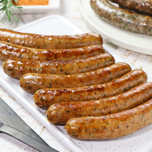The Meat Guy Marquez Lamb Sausage - Spicy (7pc)