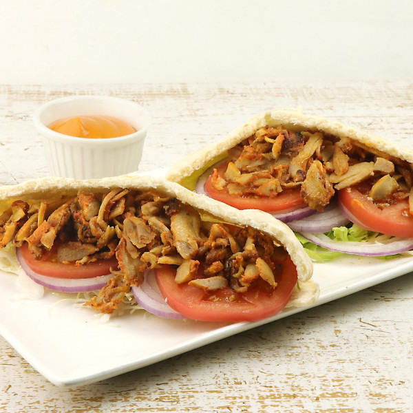 GRILLED CHICKEN KEBAB SLICES (SEASONED・COOKED) 100G