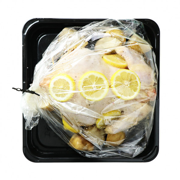 Big Roasting Bag / Oven Bag + Clips (5 Bags)