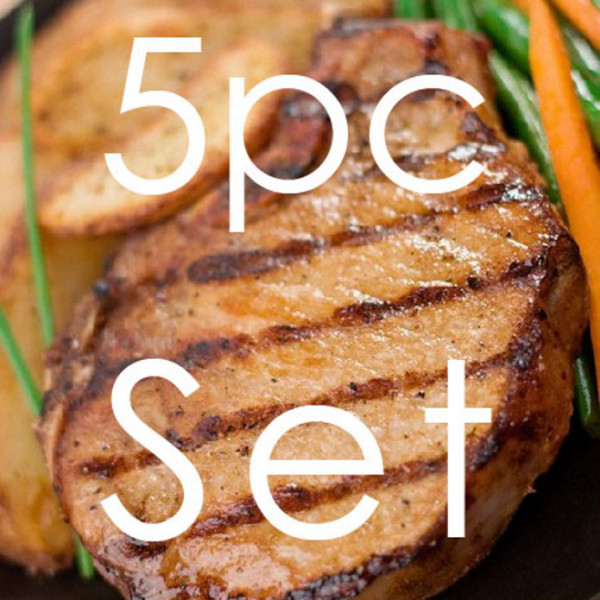 Five Piece Pork Chop (150g×5) +Spice Mix Set