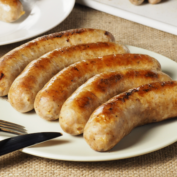 The Meat Guy Bratwurst Beer Sausage (5pc)