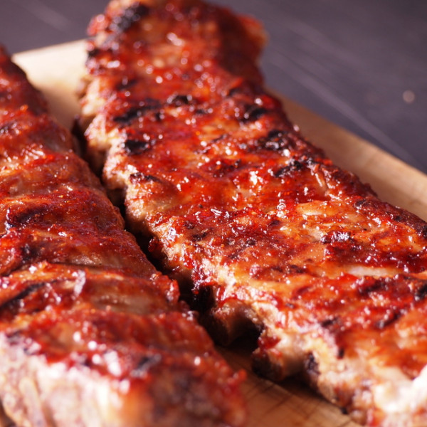 Small Baby Pork Back Ribs - 2 Small Racks 1.2kg