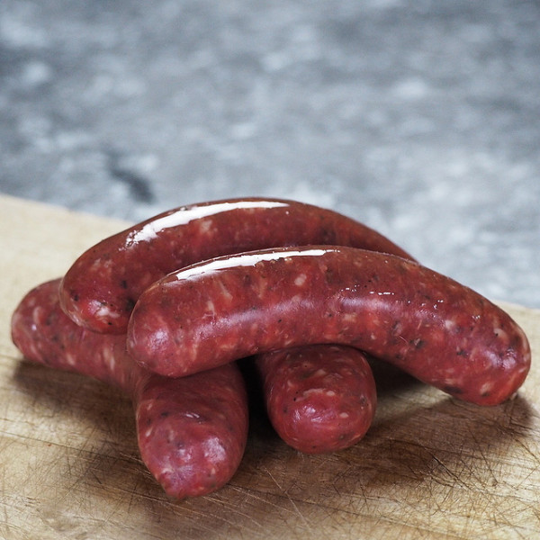 Venison/Deer Sausage - 100% Natural, Free of Additives, Preservatives and Sugar (4pc)