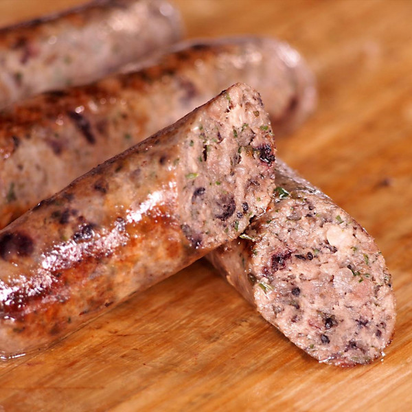 (All Natural) The Meat Guy Wild Boar with Currant Sausage (4pc)