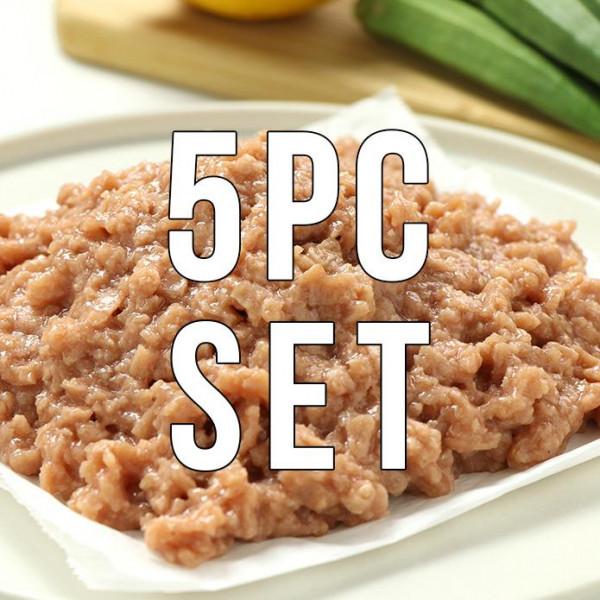 Omni Pork 1.15kg Set 100% Plant-Based Meat (230g × 5 packs)