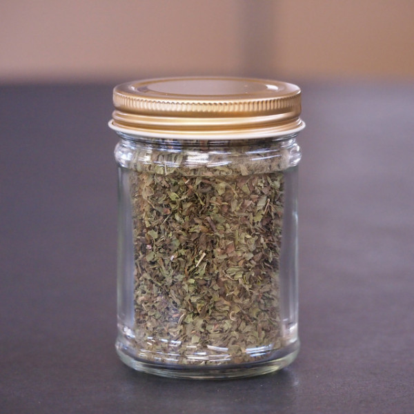 Mint Leaves Coarse Ground in a Jar (15g)