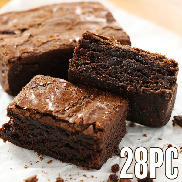 Triple Chocolate Brownies (28 pcs)