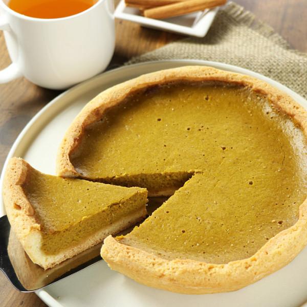 Homemade Pumpkin Pie (18 cm)