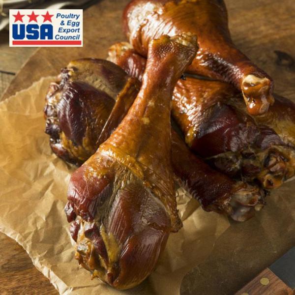 Very Popular! Smoked Turkey Drumsticks (350g×2pc)