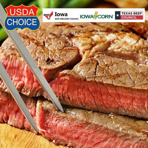 【FREE SHIPPING(NOW ONLY)】NEW SIZE! USDA Choice Ribeye Steak (350g)