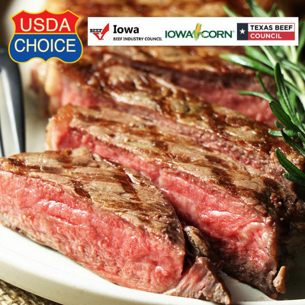 USDA Choice Striploin Steak 350g