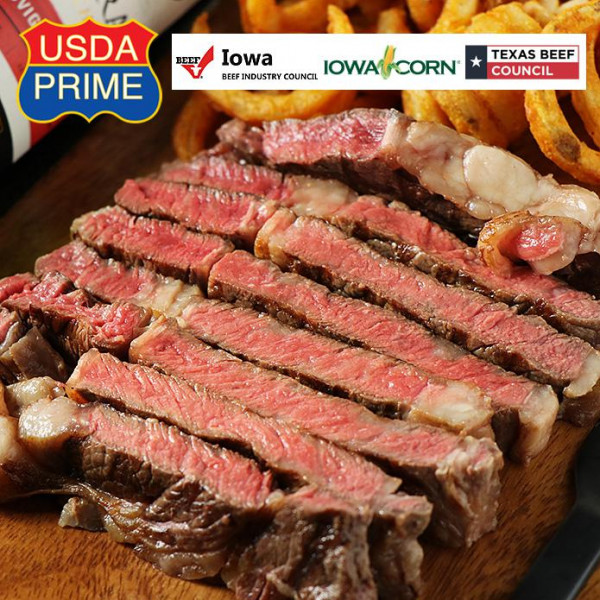 【FREE SHIPPING(NOW ONLY)】USDA Prime Ribeye Steak 350g