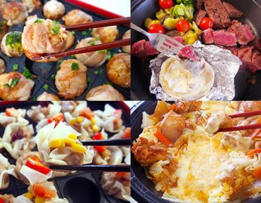 メインも副菜も一気にできる!ホットプレートでつくる簡単お肉レシピ