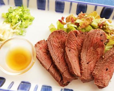 カンガルー肉のたたき