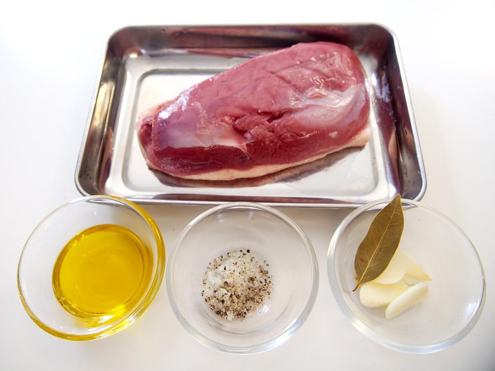 炊飯器で鴨肉のコンフィ