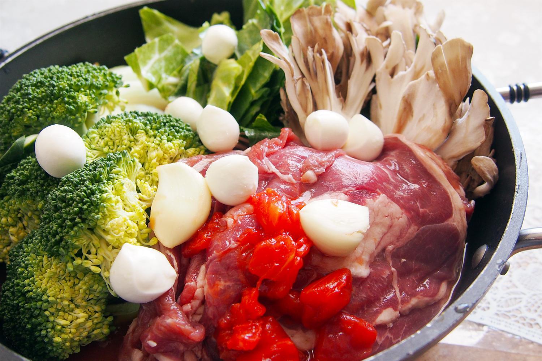 ラムのトマト鍋