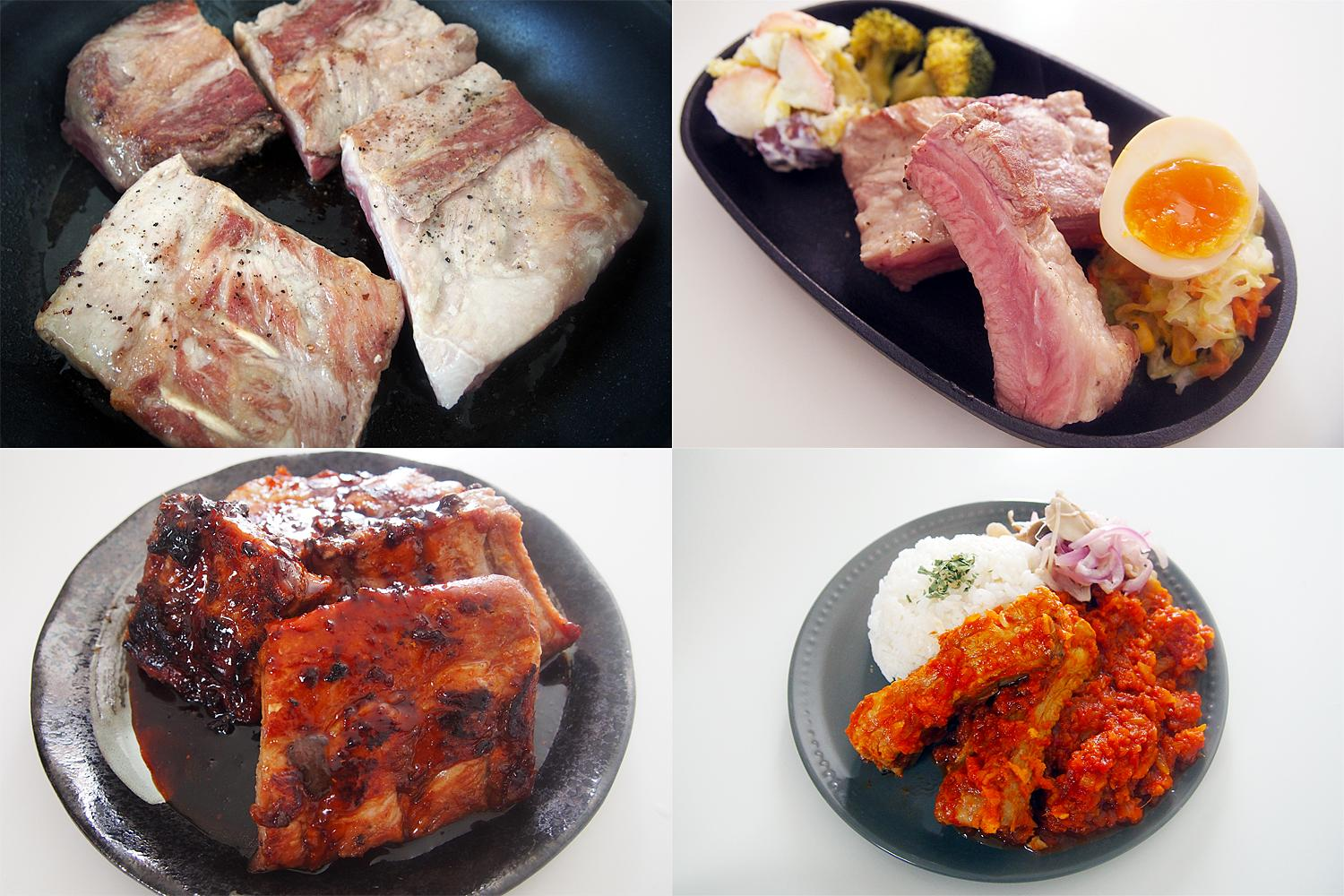 SPARERIBS IN A FRYING PAN! 3 EASY AND DELICIOUS RECIPES