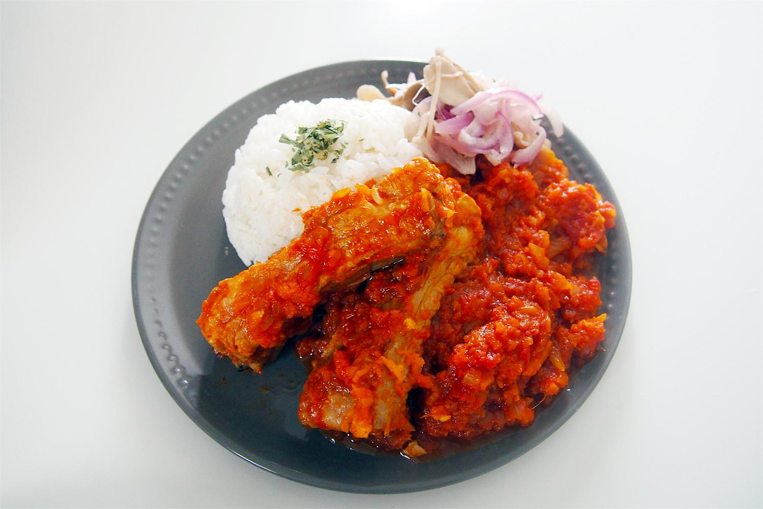 SPICED TOMATO CURRY