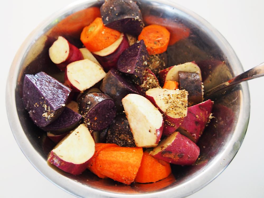 ターキー 野菜カット